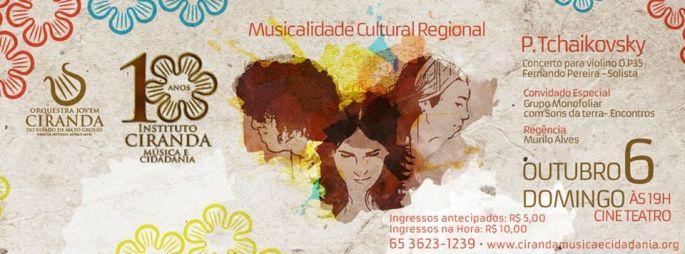 arte show com orquestra jovem